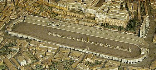 The Circus Maximus in Ancient Rome