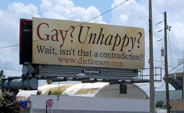 gay unhappy
