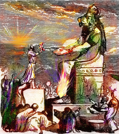 With What Pagan Practices Did God And Moses Link To Leviticus?