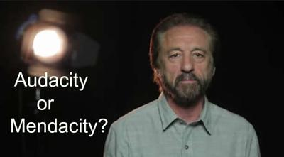 Does Audacity reveal Ray Comfort's Mendacity?