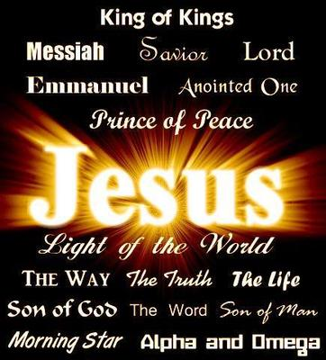 The wonderful names of Jesus