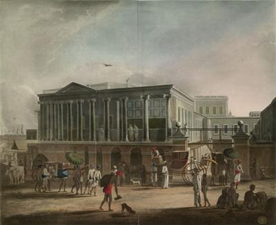 Old Calcutta, India, 1795