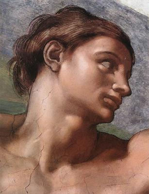 Michelangelo's Adam fresco, 1511