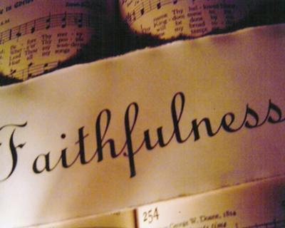 God gives us grace to be faithful