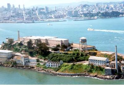 Alcatraz Prison - now a National Park