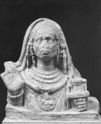 Bust of a Galli priest of Cybele