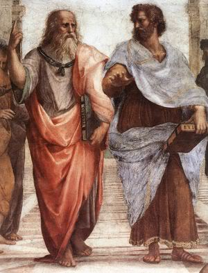 <i>Plato, unsaved Greek philosopher <br>and father of <br>christian Complementarianism</i>
