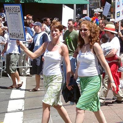 San Francisco Pride, June 27, 2004