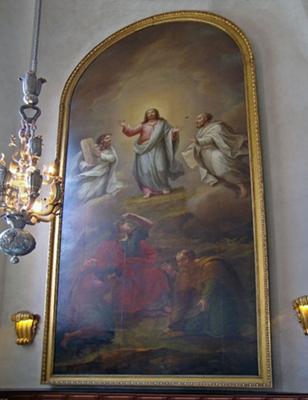 Jesus Painting in Saint Jacobs Church<br> Stockholm, Sweden