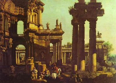 Ruins of a Temple<br>Bernardo Bellotto, 1721-1780