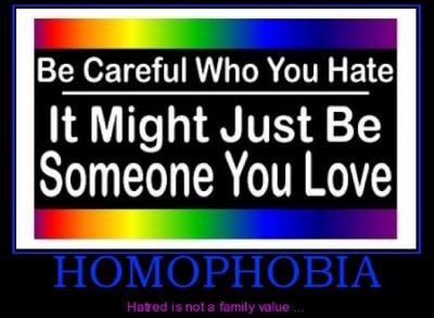 Homophobia is not cool