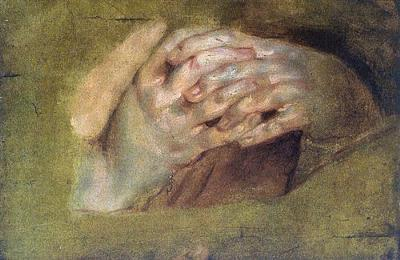 Praying Hands <br>by Peter Paul Reubens, 1577-1640