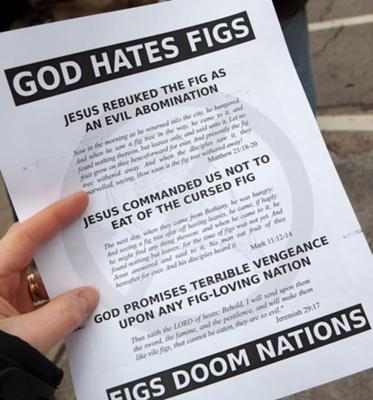 Does God hate figs or fags?