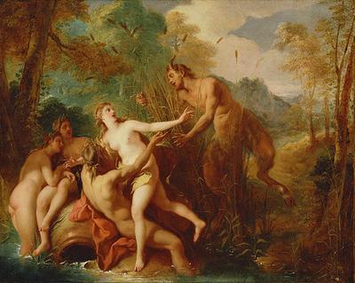 Pan by Jean François de Troy