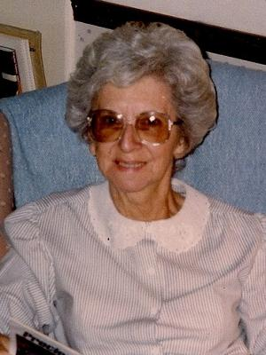 Connie Brentlinger, my Mom