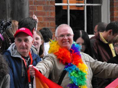 Manchester Pride 2009 (in boa)