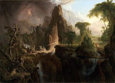 Expulsion from Eden<br>by Thomas Cole, 1801-1848