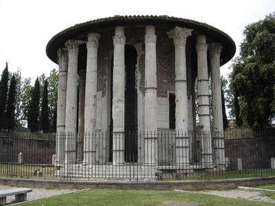 The Temple of Hercules in Rome