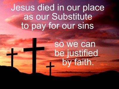 Justification by faith is a free gift