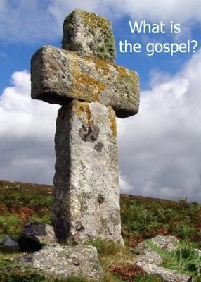 A stone cross in Cornwall, UK