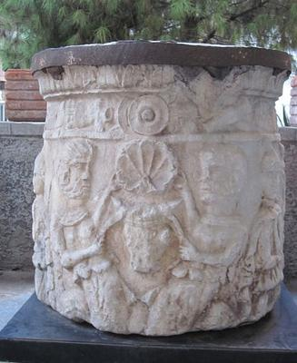 A Cybele altar in the Milano museum